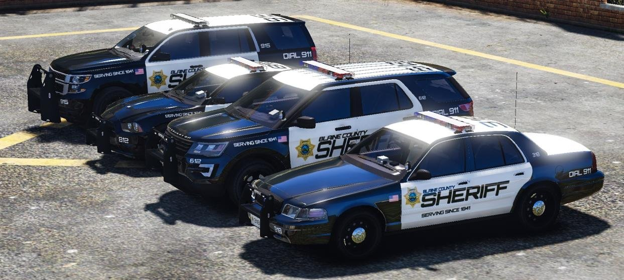 Blaine County Sheriff Office Pack - VEHICLES - POLICE