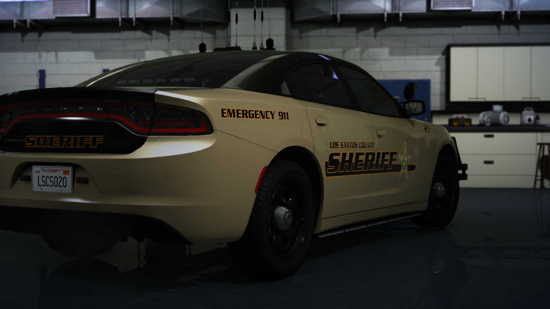 LSCSO Charger