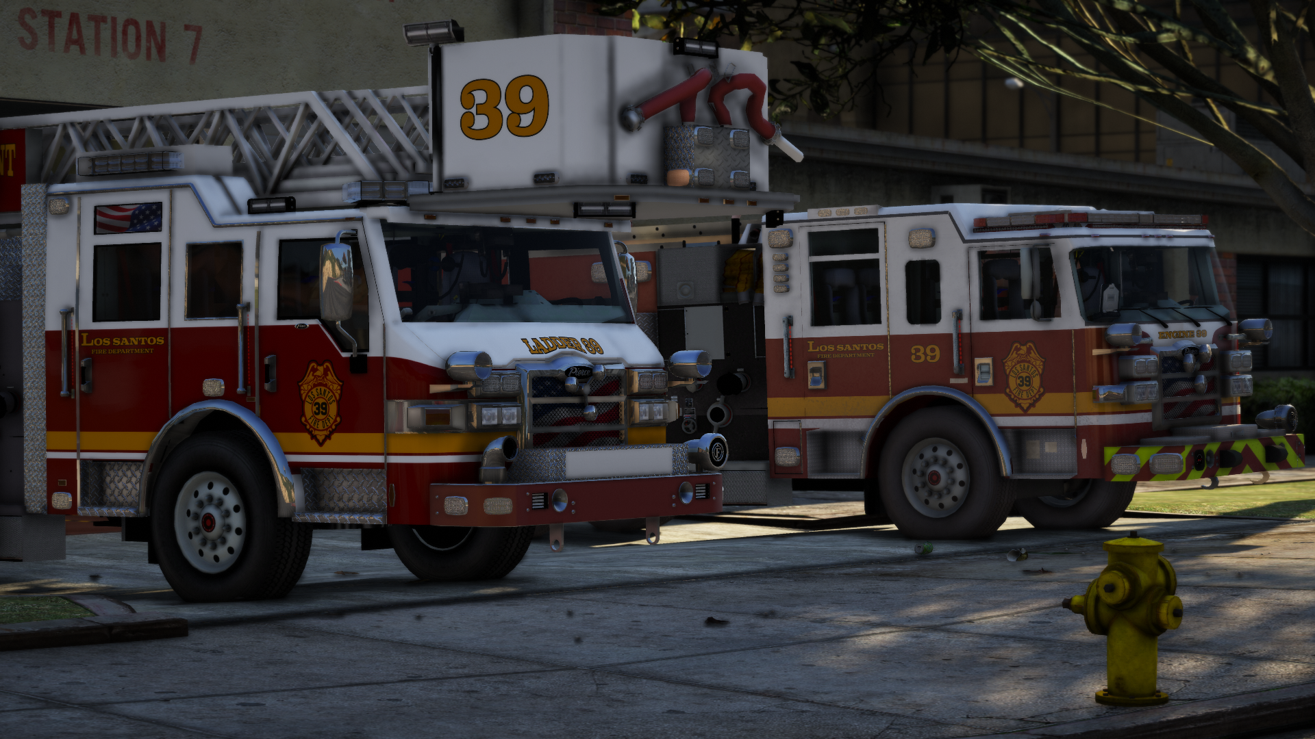 Engine and Ladder 39