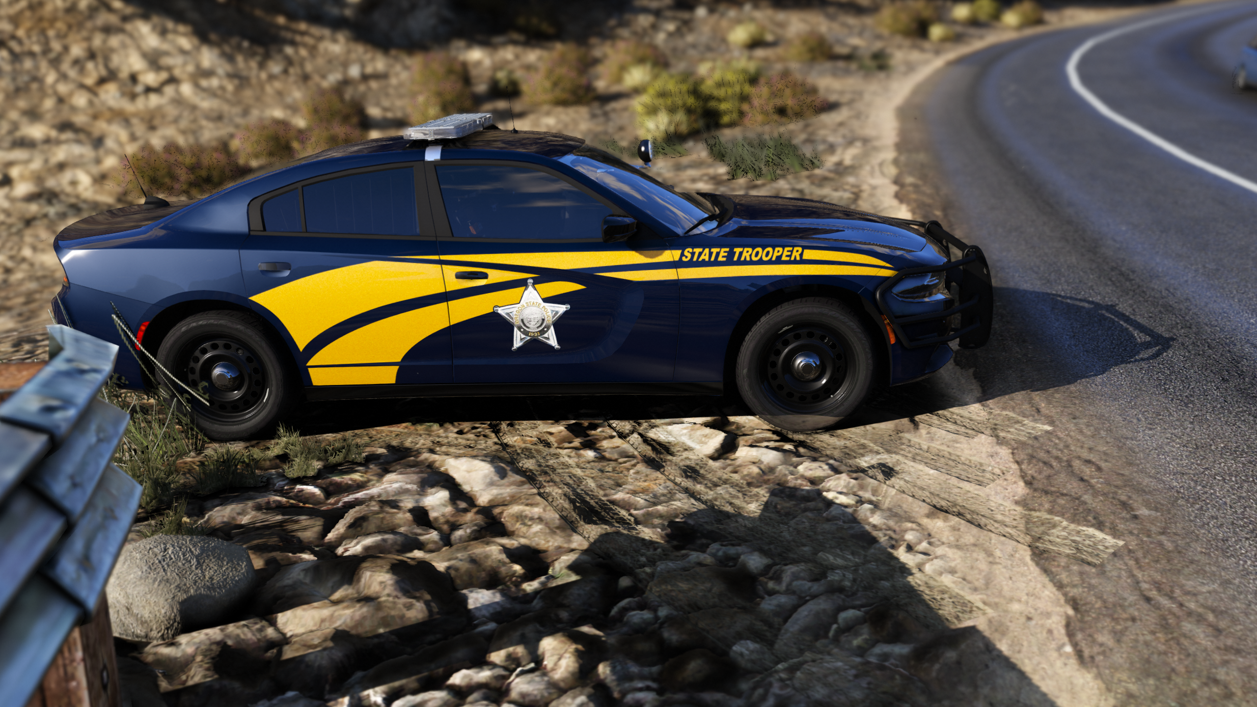 Oregon State Police 2018 Charger