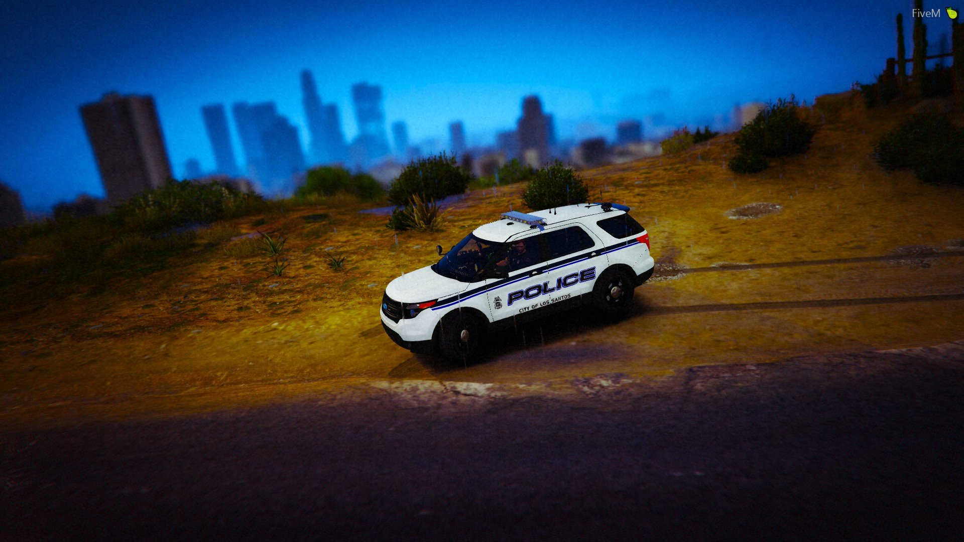 Just a picture of LSPD's sexy 2013 explorer.