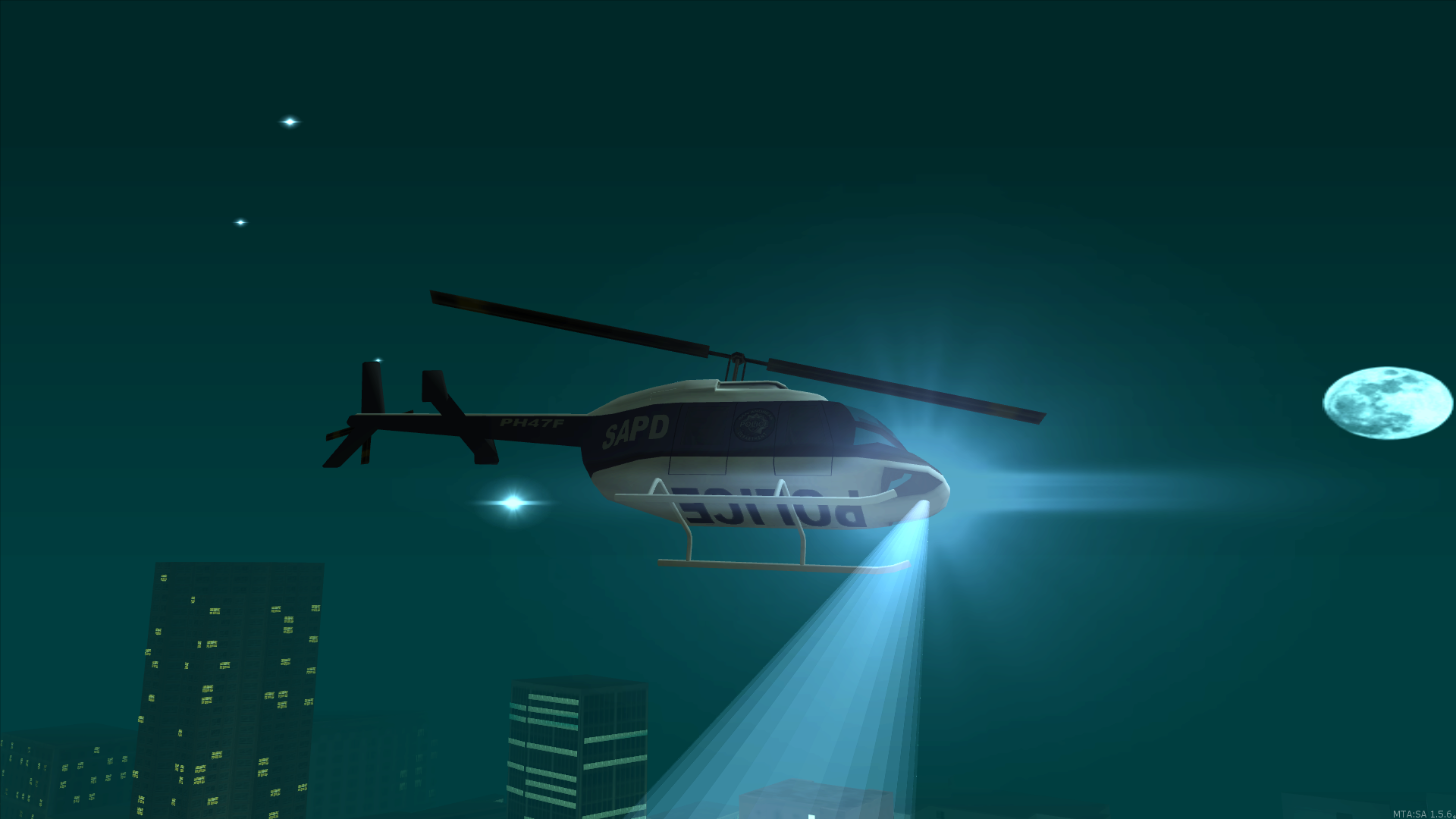 Air-14 on the night shift
