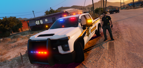Els Blaine County Sheriffs Office Pack - Bulldogfrench