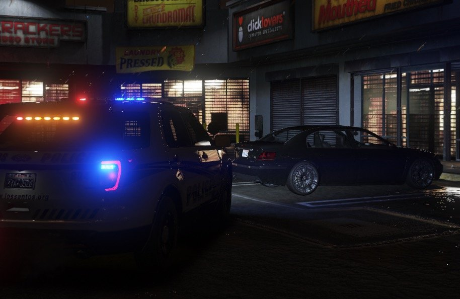 LSPD initiation of a Traffic Stop