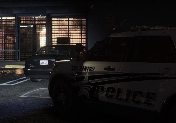 LSPD Clearing a Traffic Stop