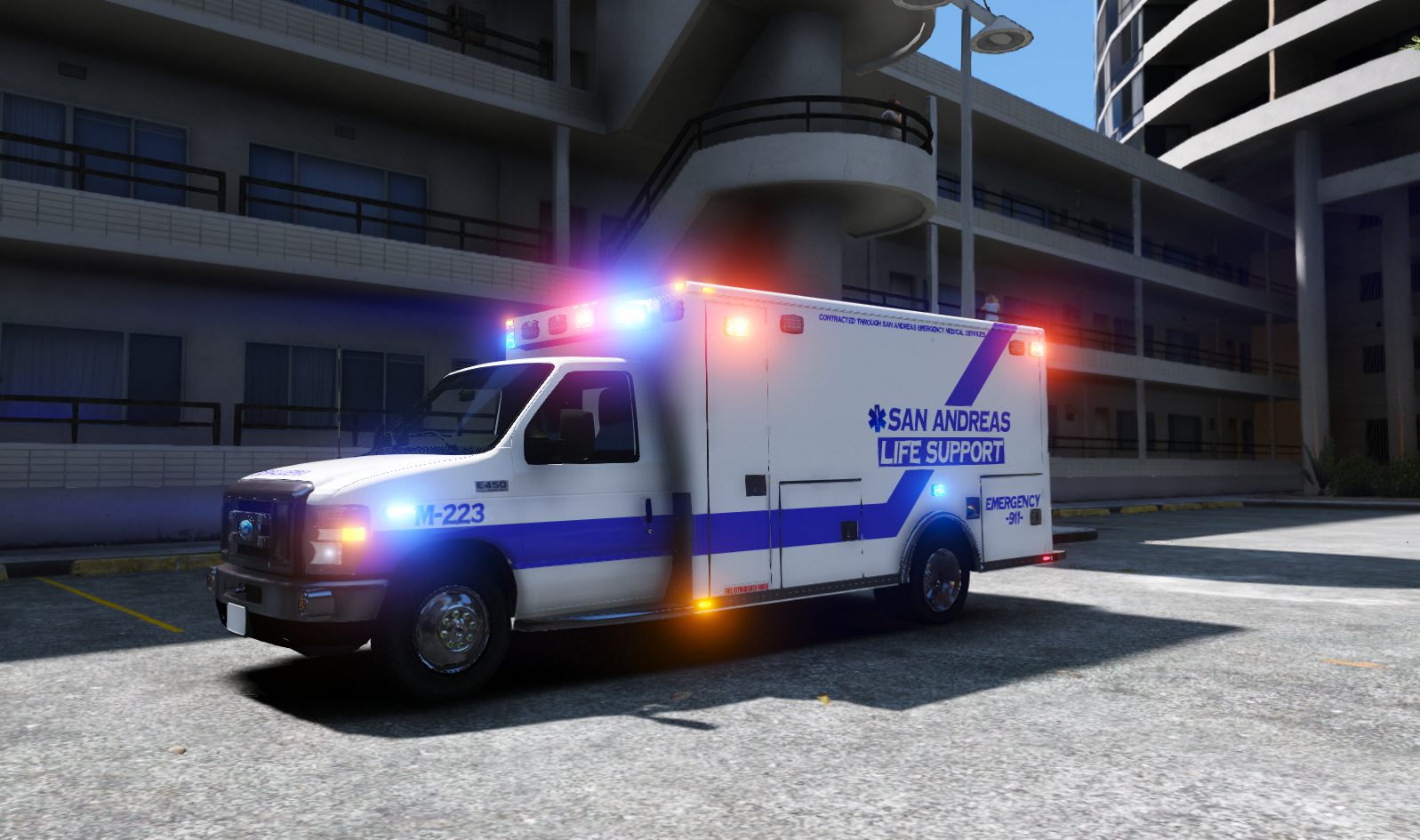SALS on scene of an Unknown Medical at the LS Yacht Club Appts.