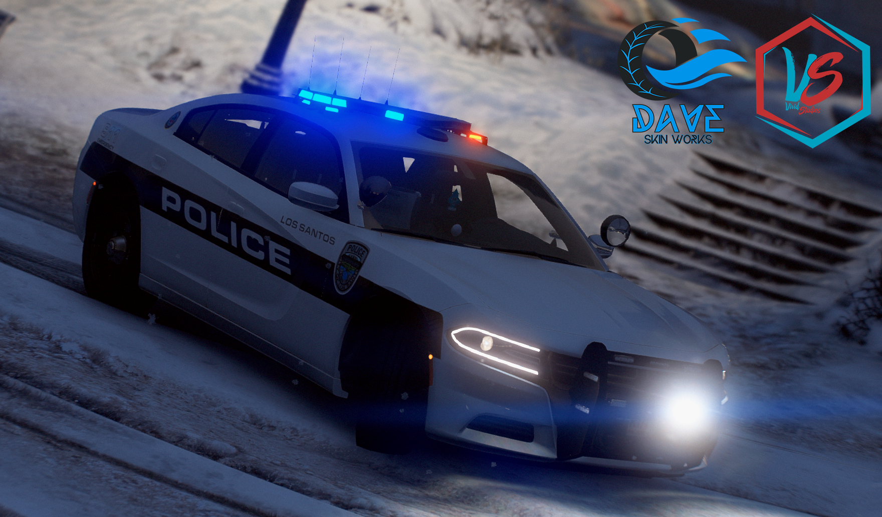 LSPD 2018 Charger