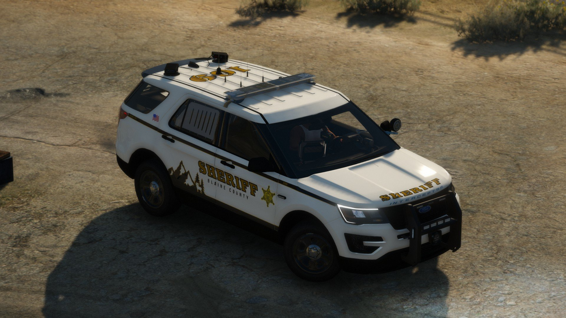 Gallatin Sheriff's Office inspired texture pack