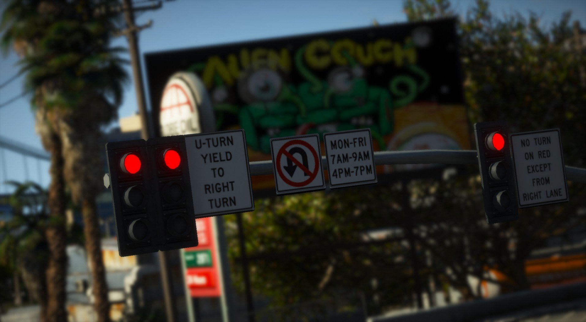 San Andreas New Intersection Laws