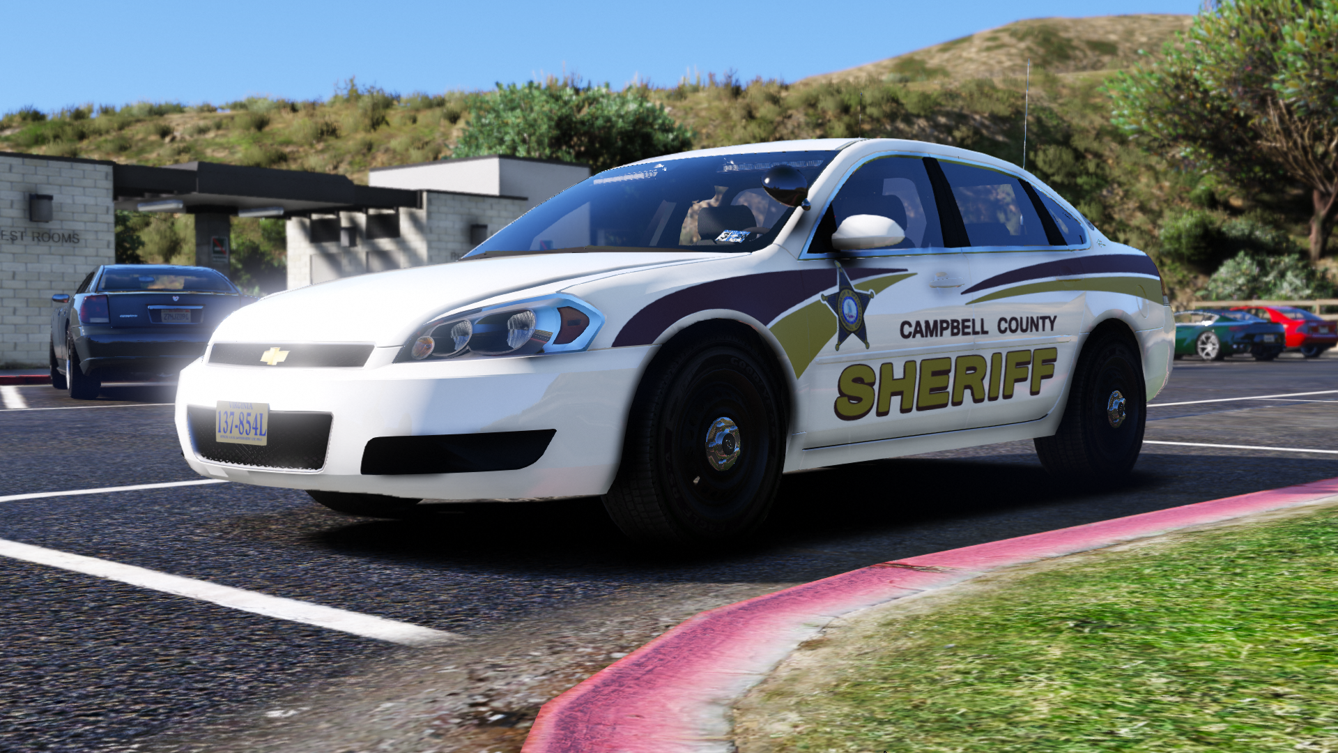 2008 Chevy Impala 9C1- Campbell County Sheriff's Office