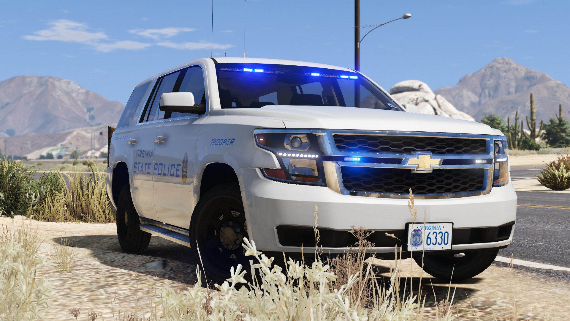 2019 Chevy Tahoe PPV- Virginia State Police