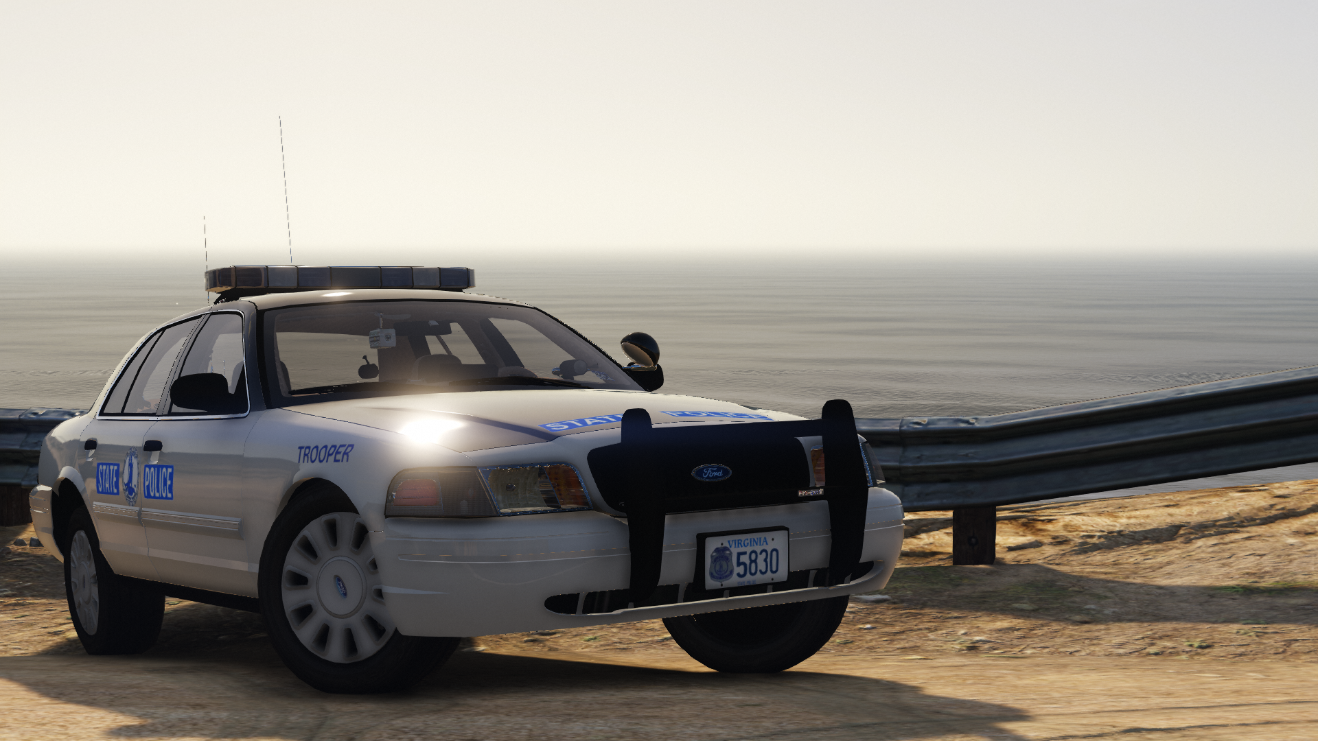 2009 Ford Crown Victoria P71- Virginia State Police