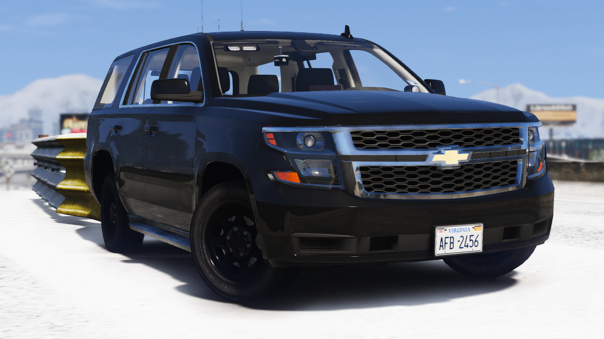 2020 Chevy Tahoe PPV- Virginia State Police