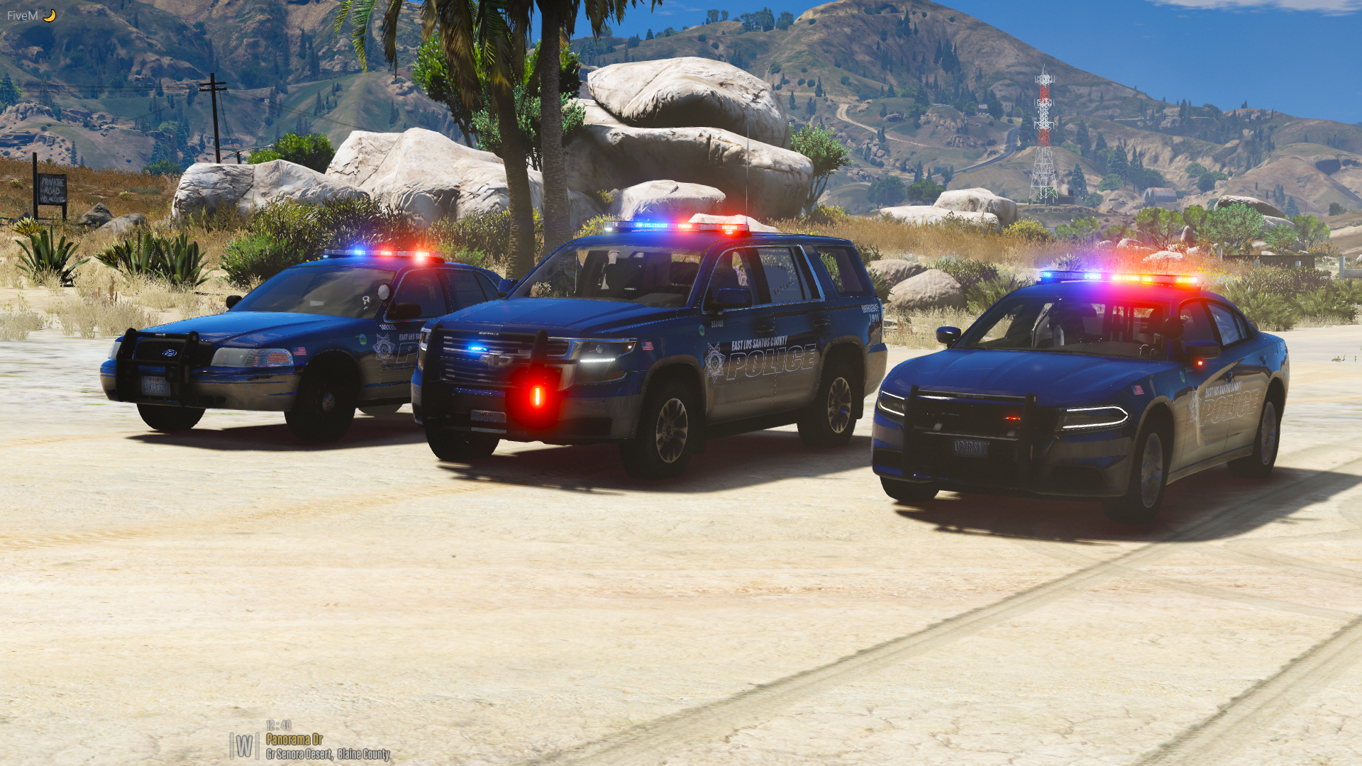 East LS Police Lineup