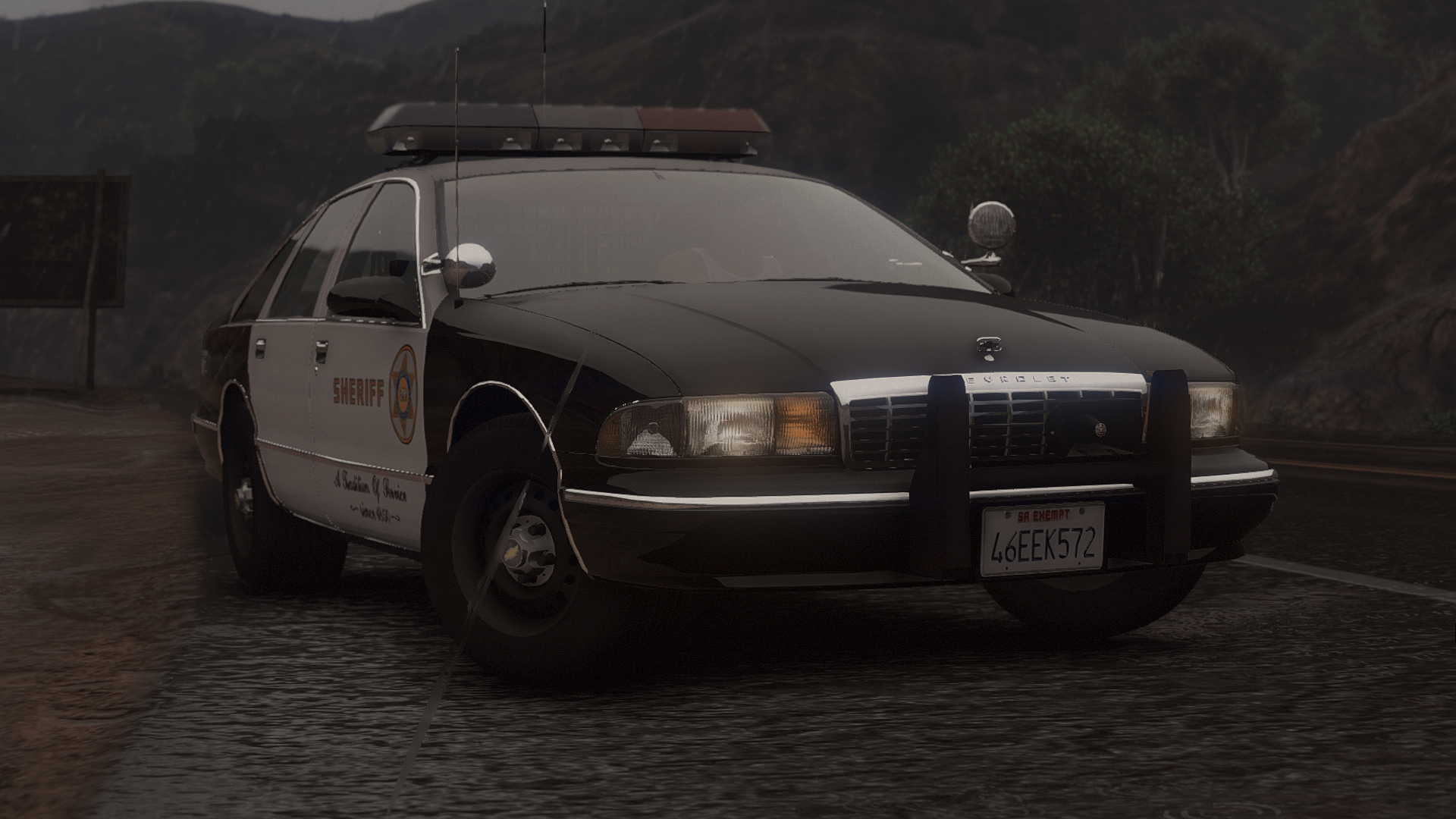 1995 Chevy Caprice 9C1- Los Angeles County Sheriff's Department