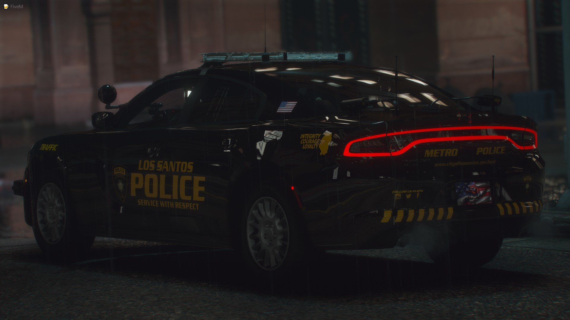 LSPD Traffic Charger