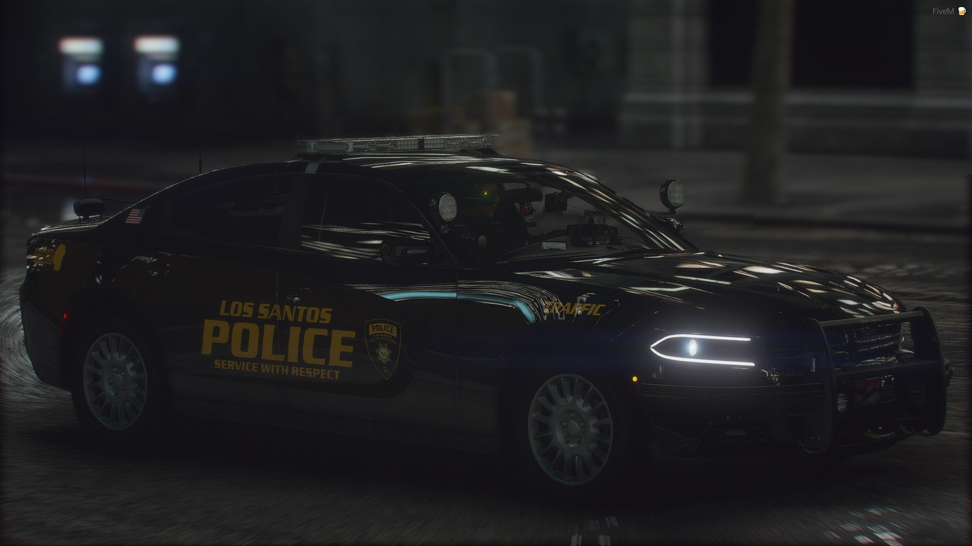 LSPD 18 Charger Traffic