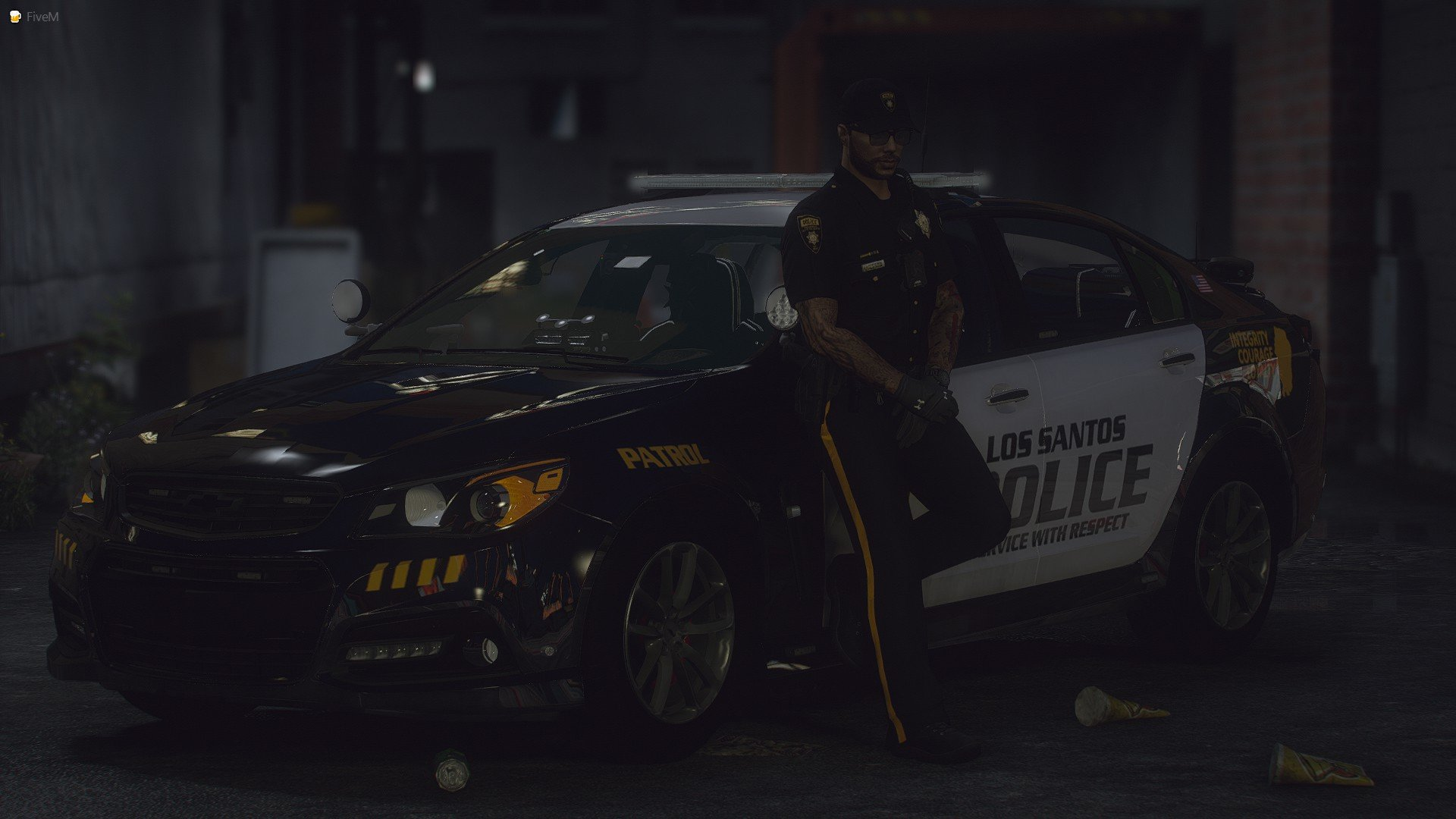 LSPD Chevy SS