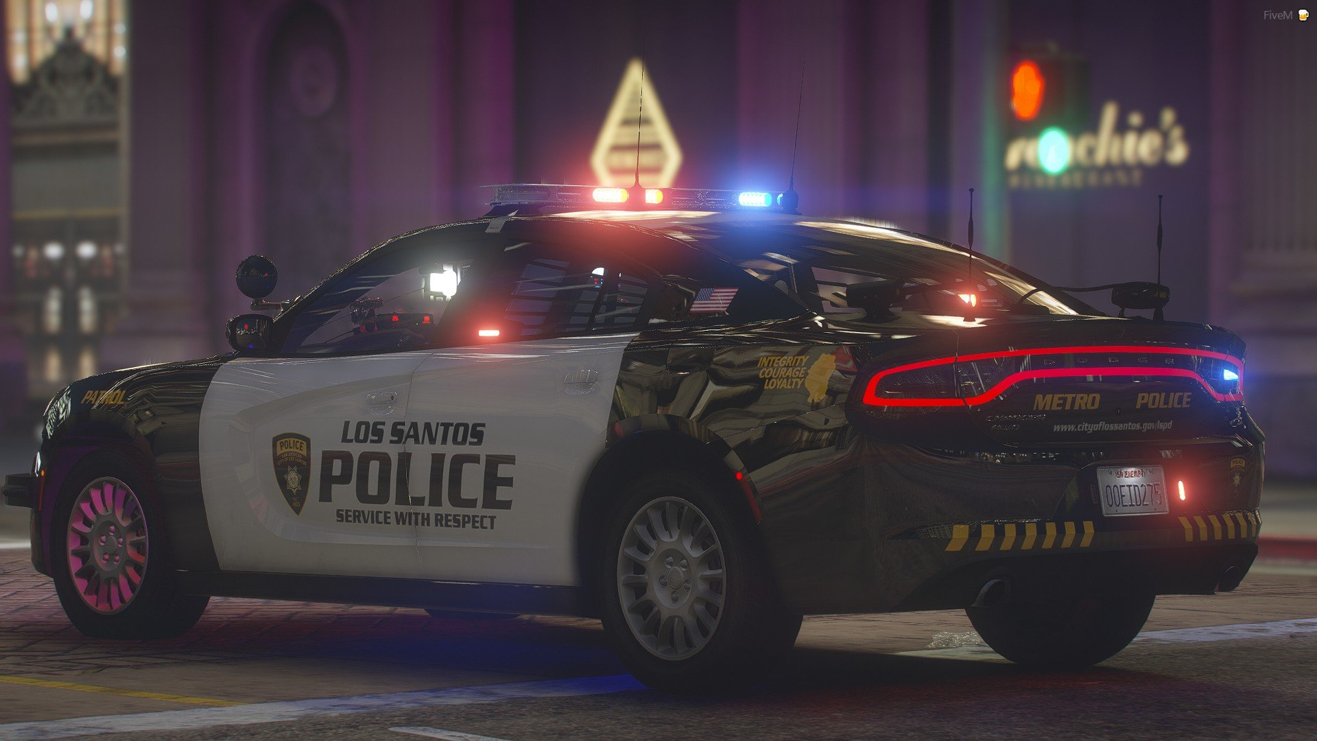 LSPD 18 Charger