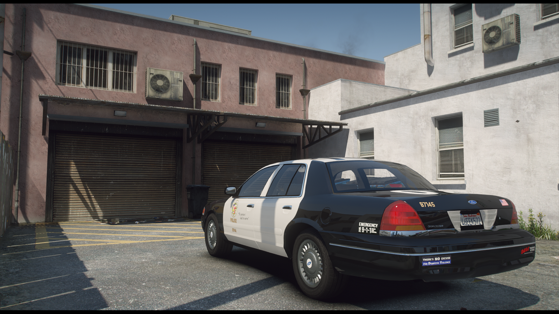 98' LAPD Ford Crown Victoria