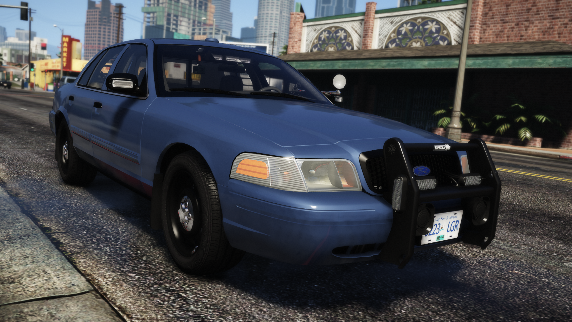 Unmarked RCMP Crown Victoria