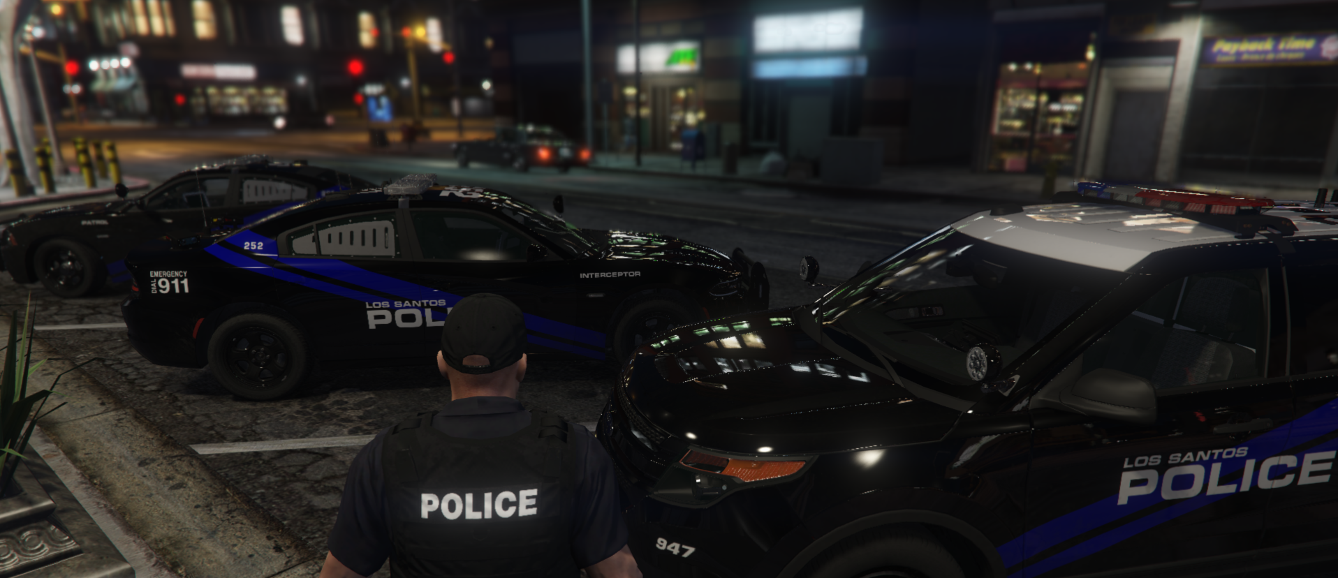 Admiring the new skins what I made before going on duty