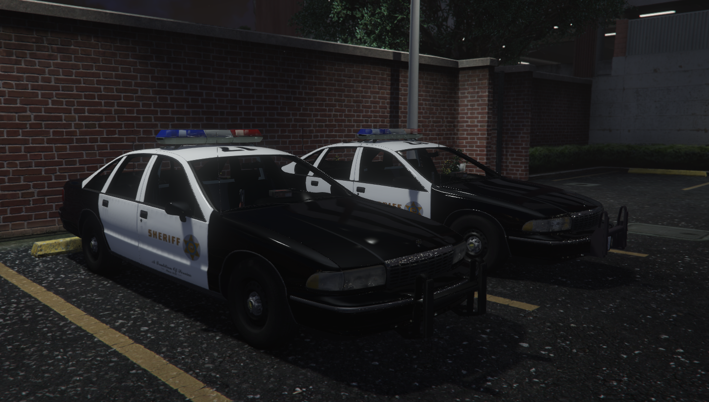 LSSD Sheriff Cars 1 1994 & 1995 Caprices