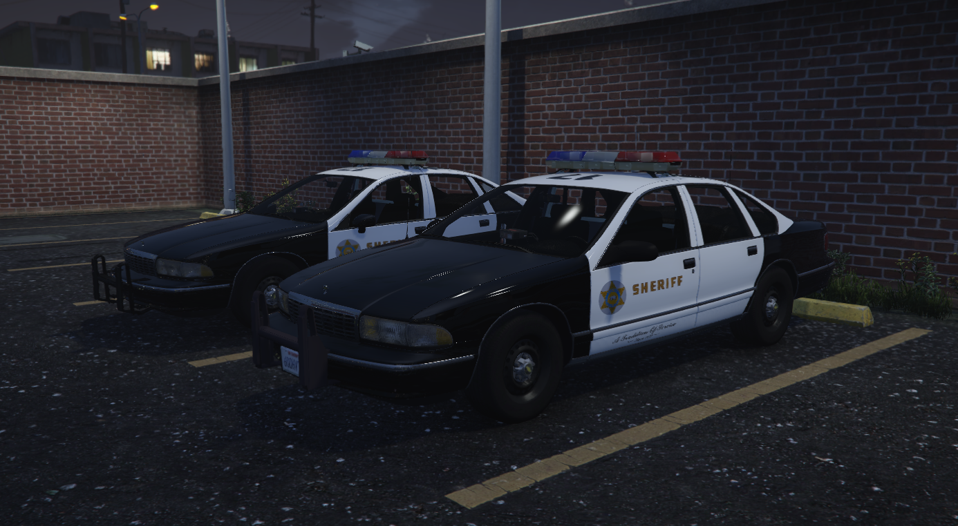 LSSD Sheriff Cars 2 1994 & 1995 Caprices