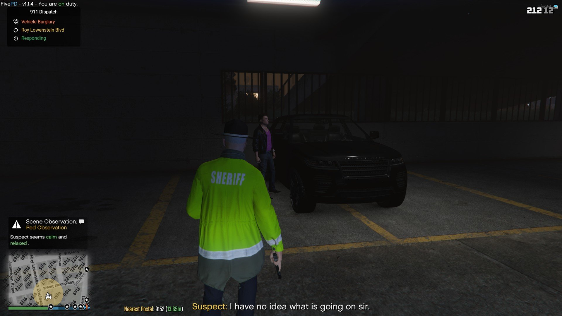 Is this your car sir?