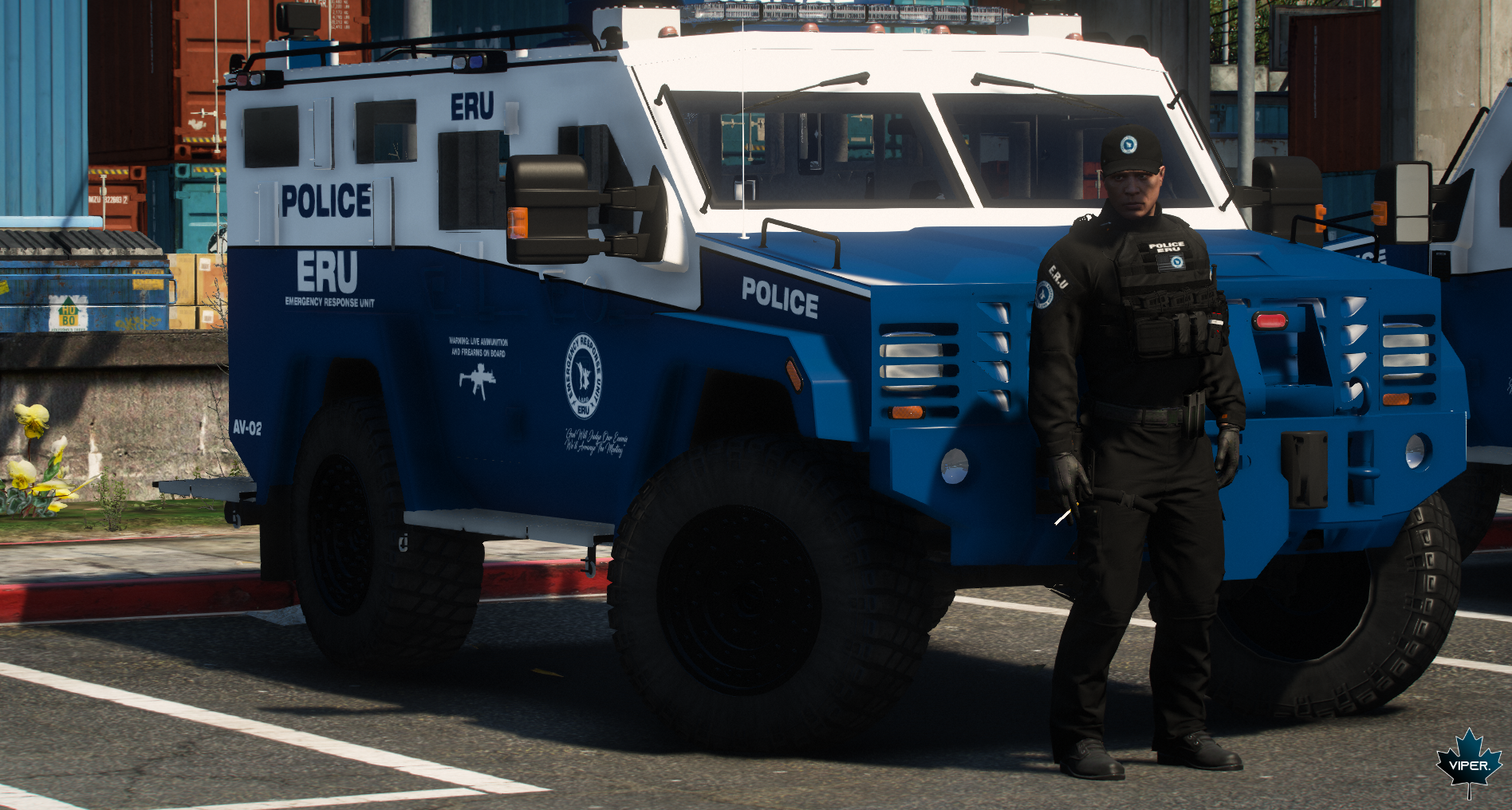 the LSPD's new Bearcats (2)