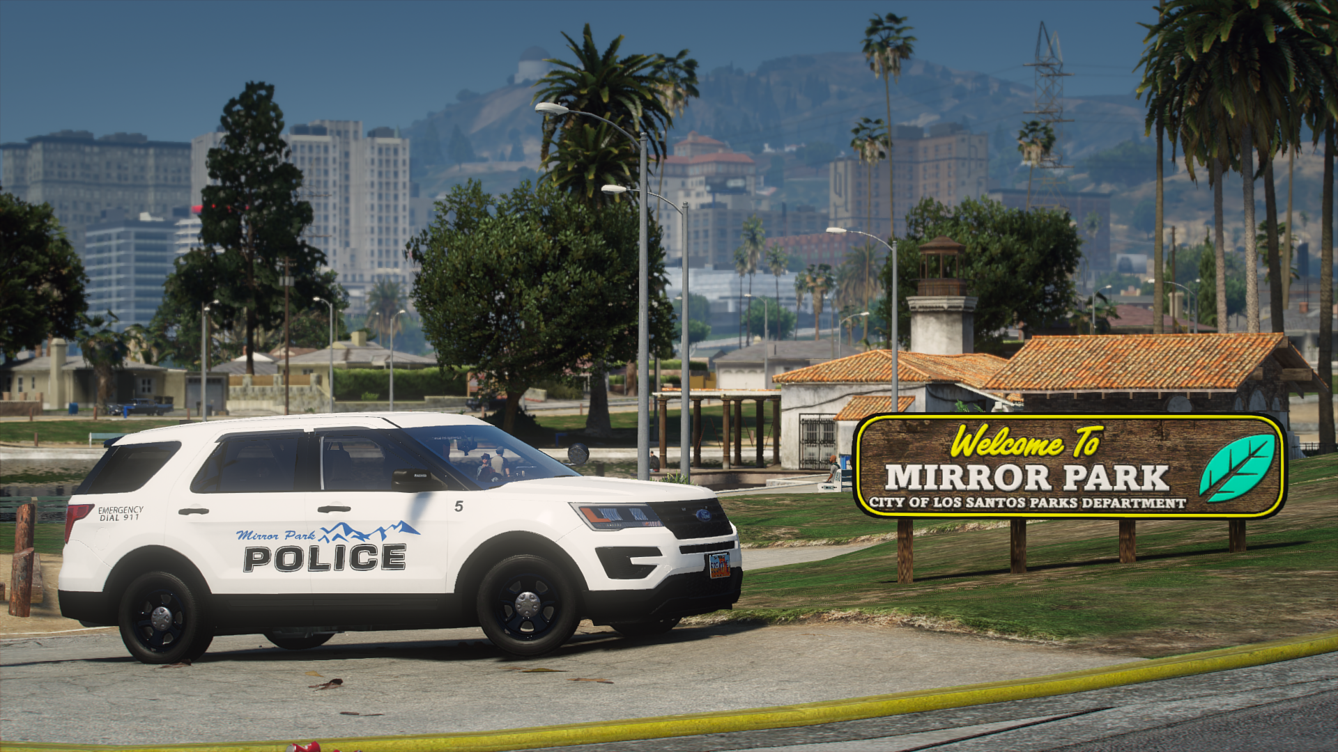 Welcome to Mirror Park