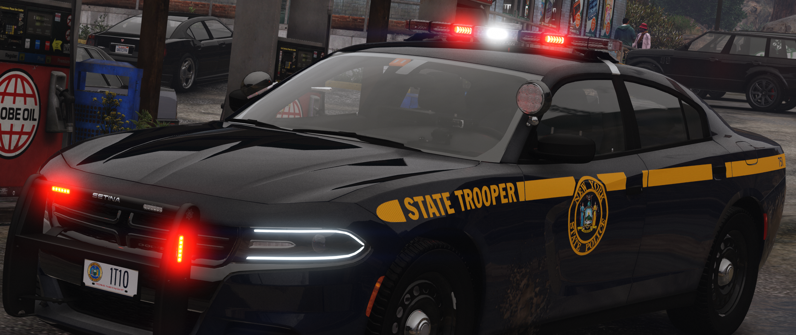 New York State Police Charger