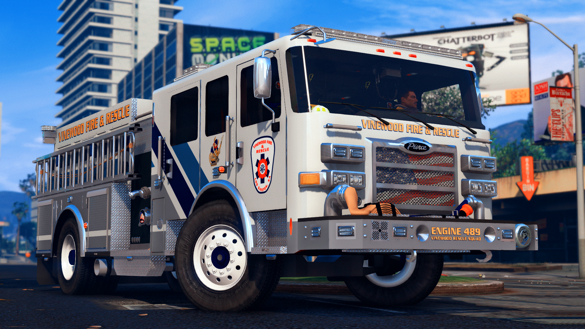 Based on West End Fire Rescue Company