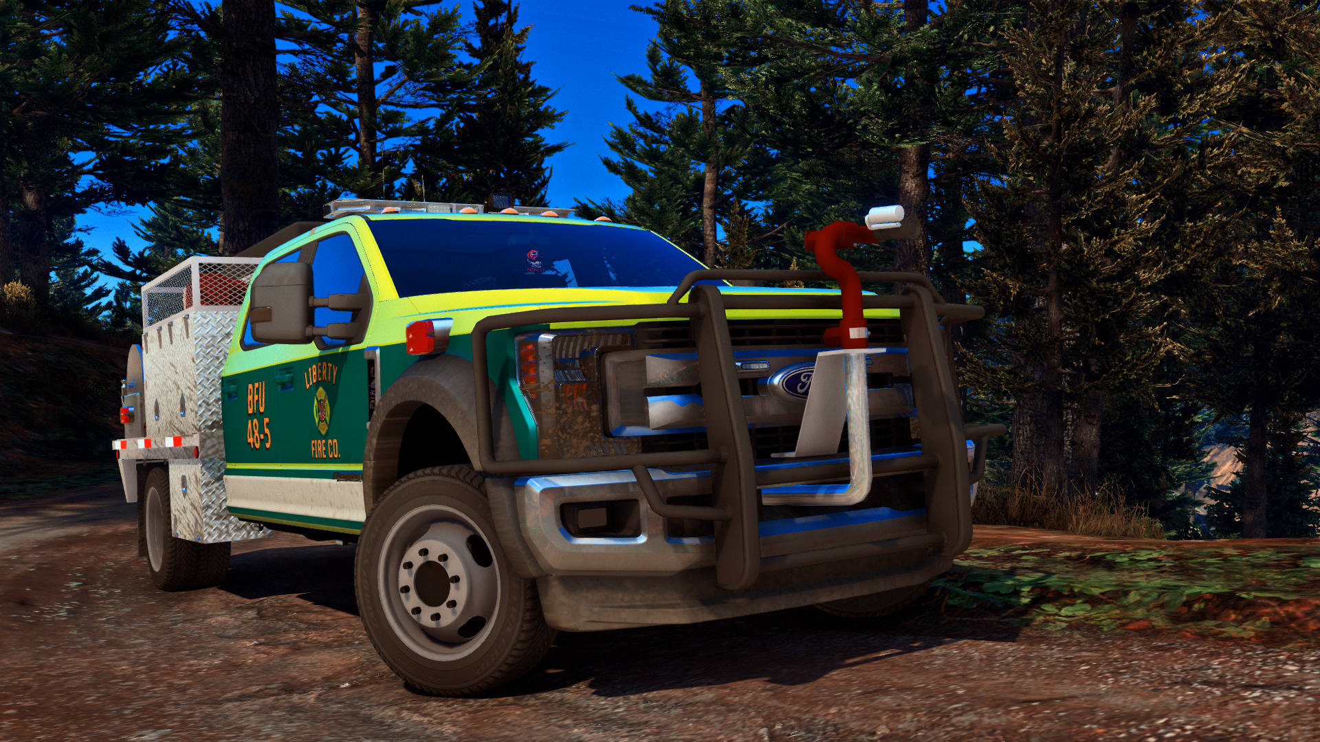 Helping out in the Paleto Forest!