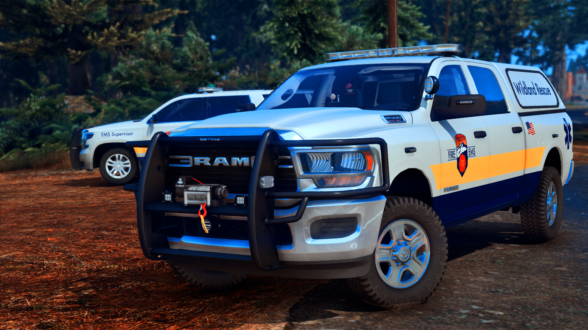 The best truck for Wildland Rescue ?