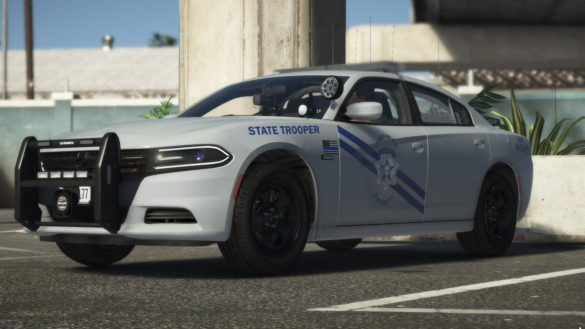 SAHP Silver Charger
