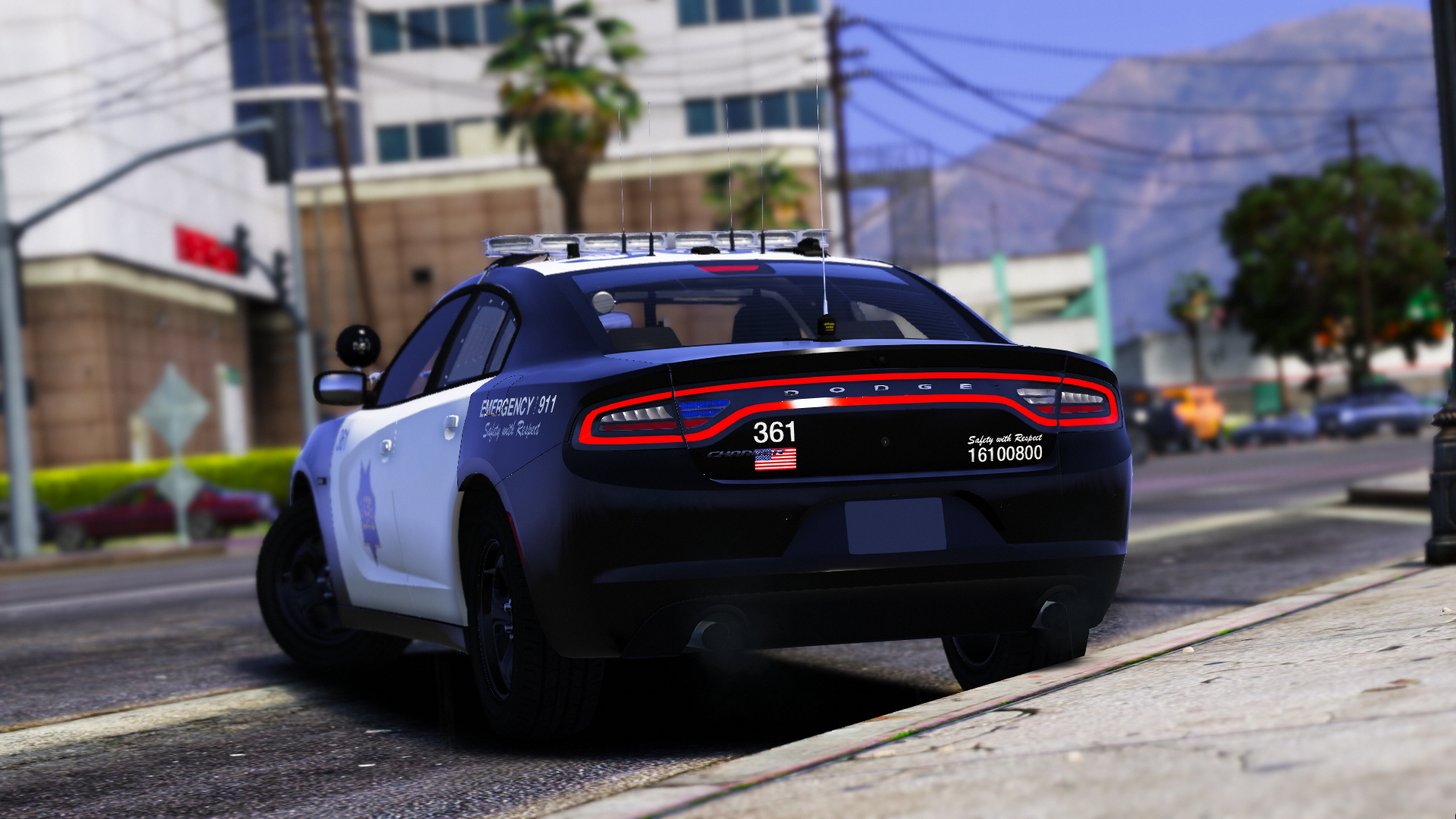 LSPD Patrol Charger