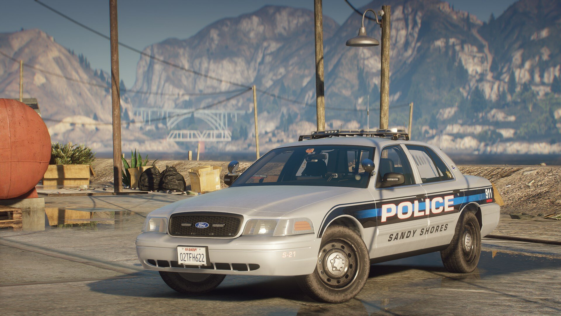 Sandy Shores PD Texture pack