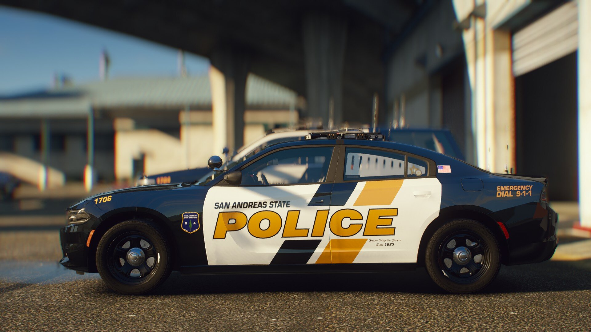 San Andreas State Police texture pack