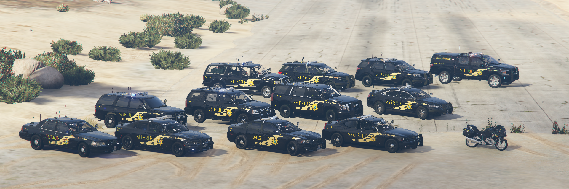 LSCSO: New Vehicles (Aerial)