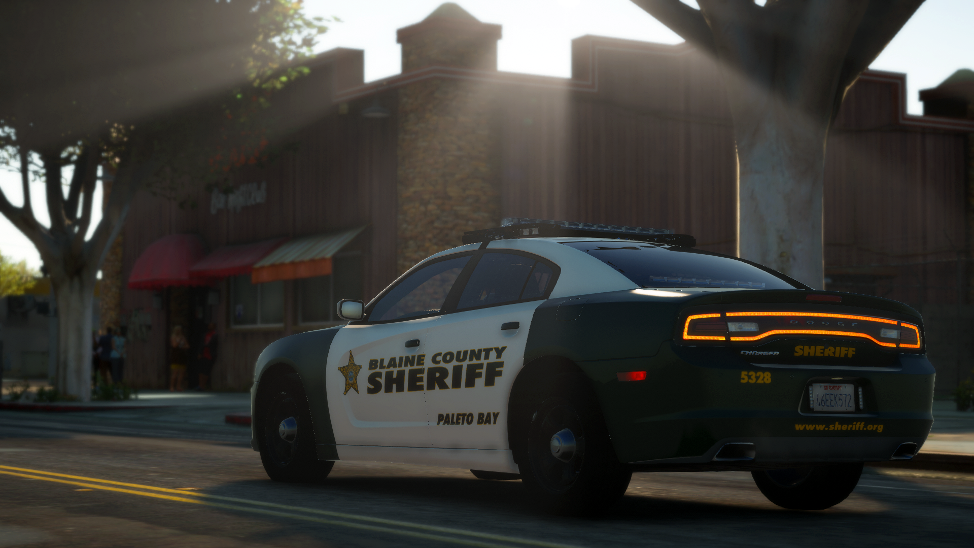 BCSO '14 Charger