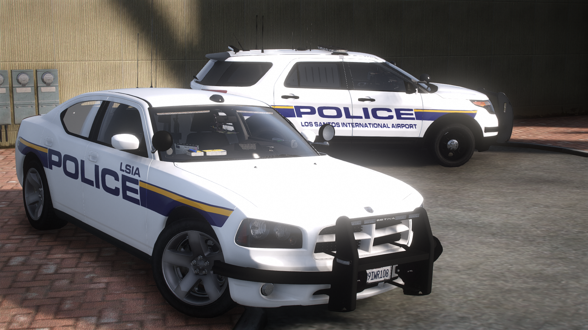 LSIA Police Charger & Explorer