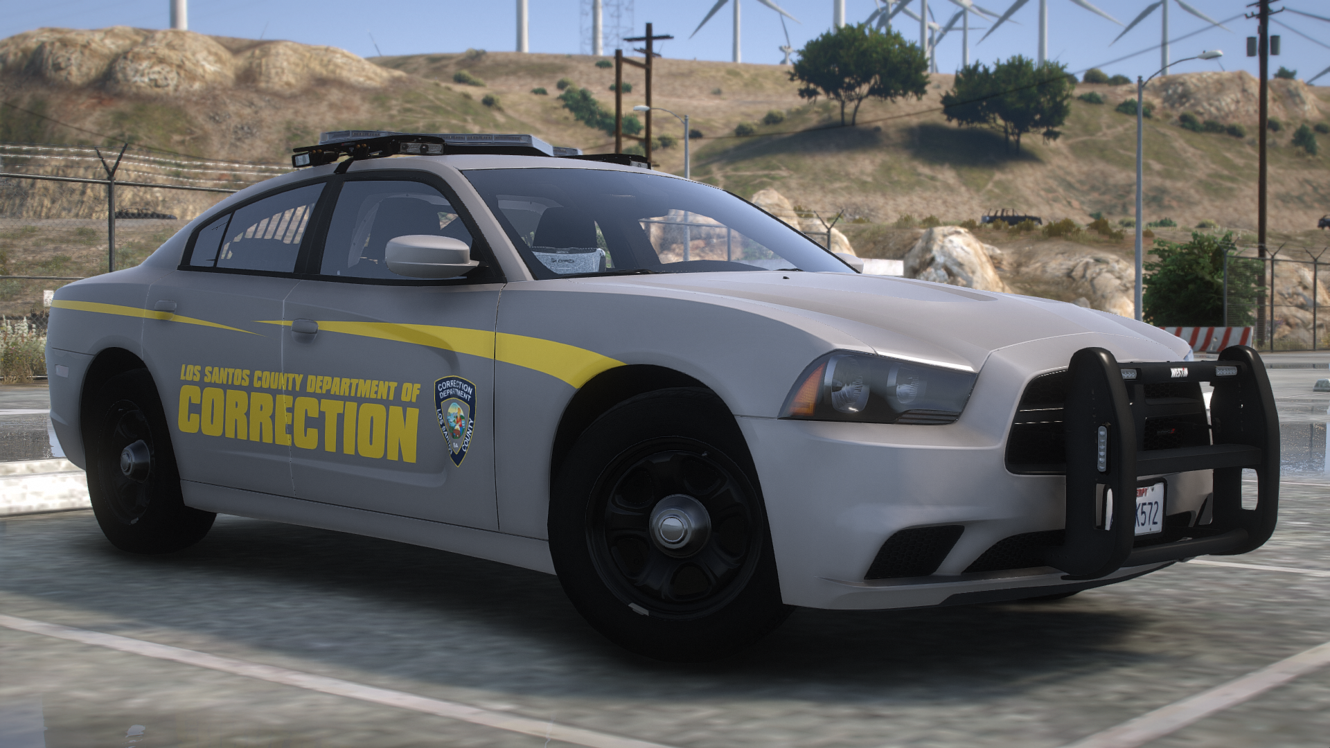 LS County Corrections Charger