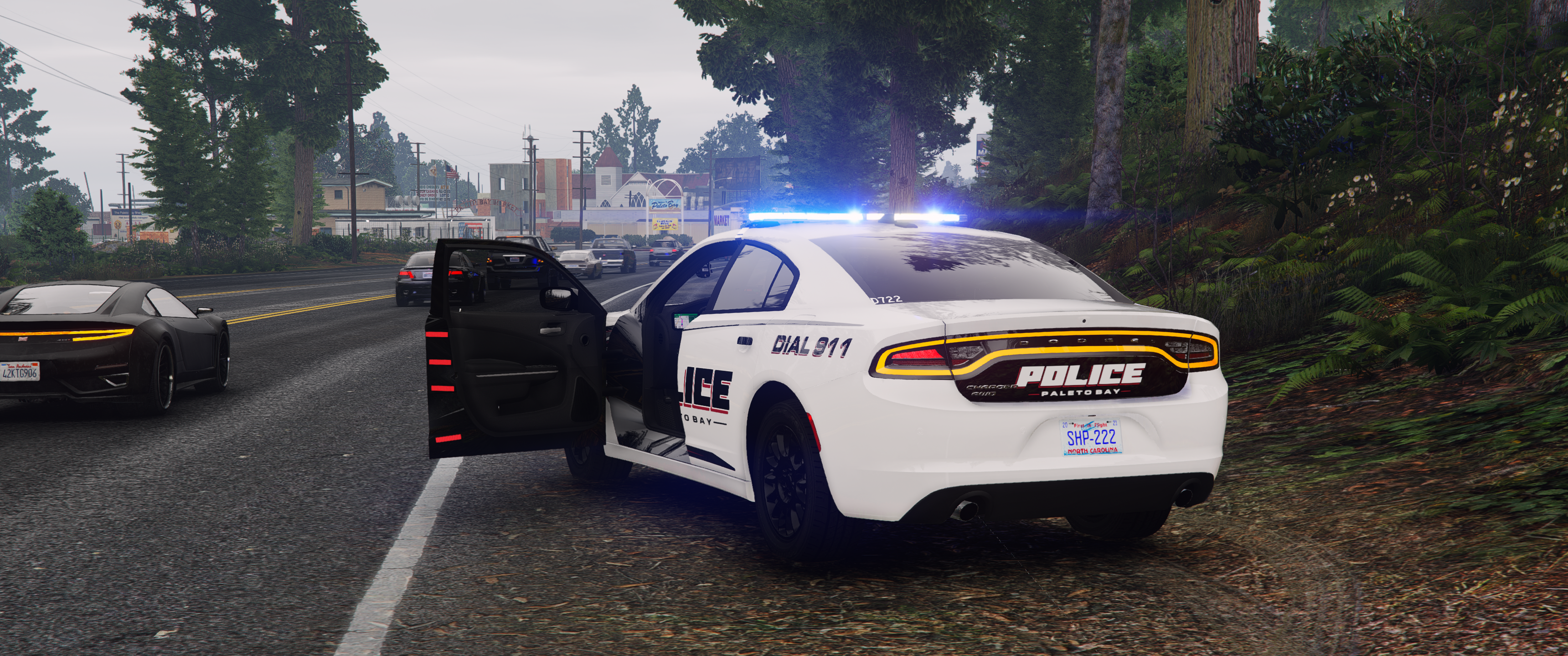 PBPD, Carrboro, NC Police based Traffic Stop