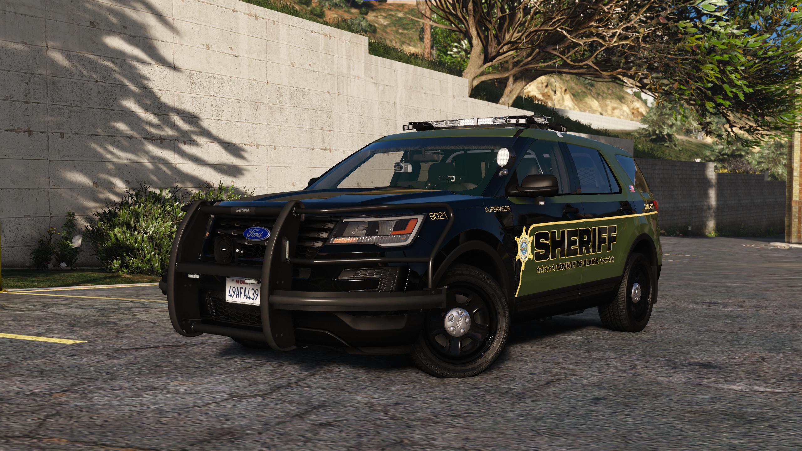 WIP Blaine County Sheriff's Livery Pack