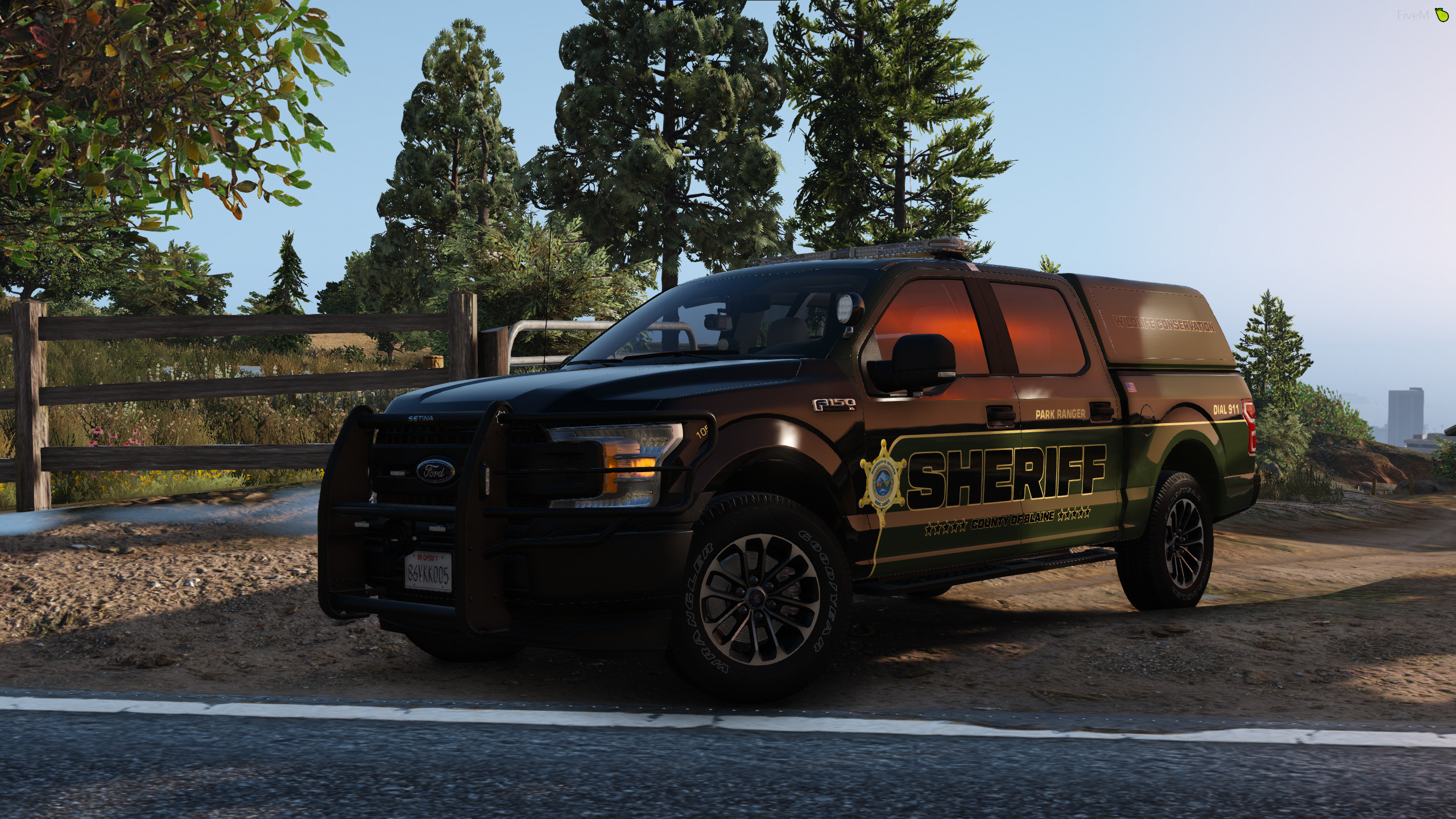 WIP Blaine County Sheriff's Livery Pack [F150]