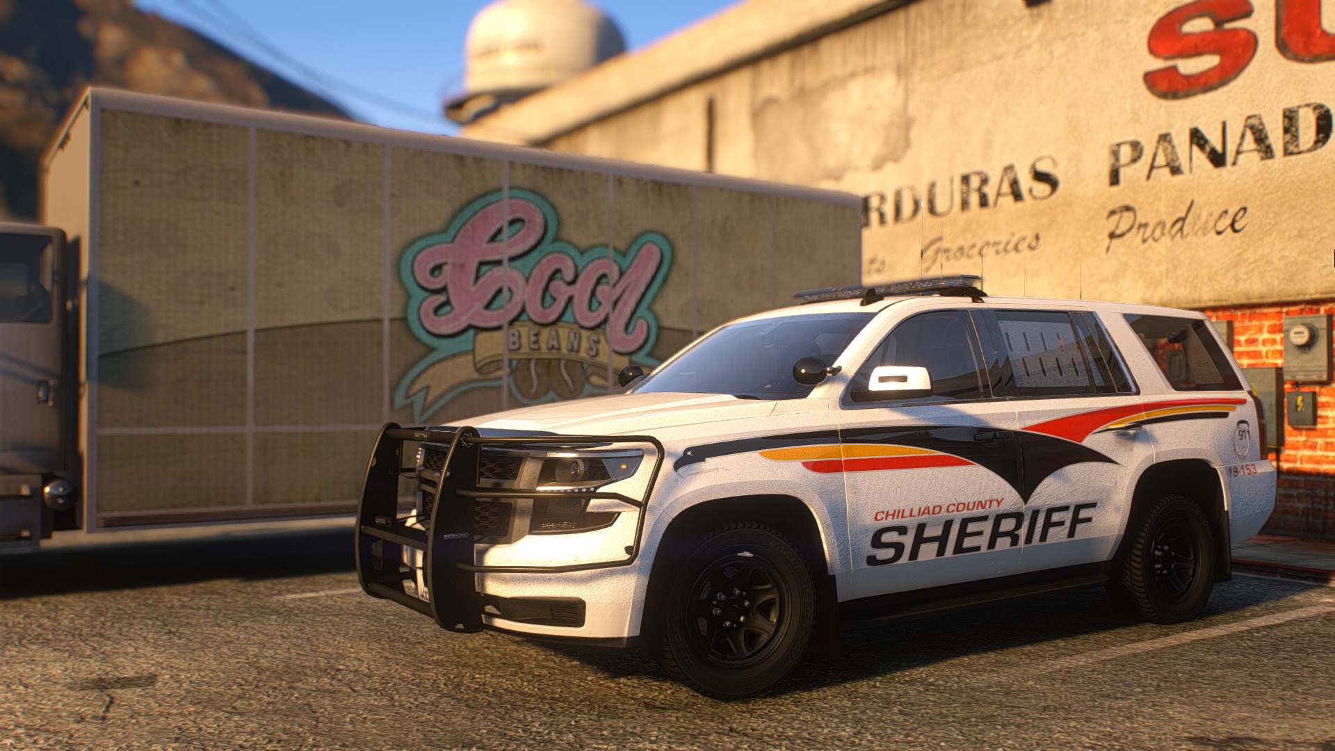 Six Nations Police inspired Tahoe